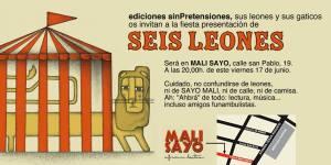 invitación Seis leones
